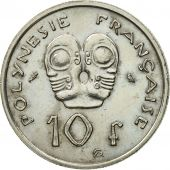 Monnaie, French Polynesia, 10 Francs, 1972, Paris, SUP, Nickel, KM:8