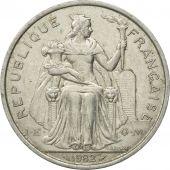 Coin, French Polynesia, 5 Francs, 1982, Paris, EF(40-45), Aluminum, KM:12