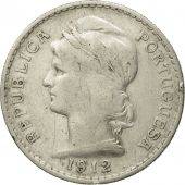 Coin, Portugal, 50 Centavos, 1912, EF(40-45), Silver, KM:561