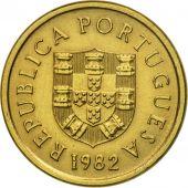 Coin, Portugal, 5 Escudos, 1982, AU(55-58), Copper-nickel, KM:615