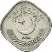Coin, Pakistan, 5 Paisa, 1982, AU(50-53), Aluminum, KM:52