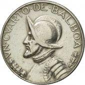 Monnaie, Panama, 1966 dates struck at US Mint in San Francisco., 1/4 Balboa