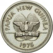 Monnaie, Papua New Guinea, 5 Toea, 1975, SUP, Copper-nickel, KM:3