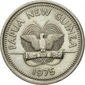 Monnaie, Papua New Guinea, 10 Toea, 1975, SUP, Copper-nickel, KM:4