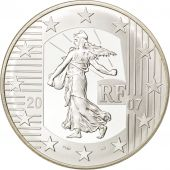 France, Ve République, 5 Euro Semeuse 2007, BE, KM 1523