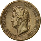 Coin, FRENCH COLONIES, Louis - Philippe, 10 Centimes, 1844, Paris, EF(40-45)