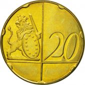 Ireland, Medal, Essai 20 cents, 2005, MS(63), Brass