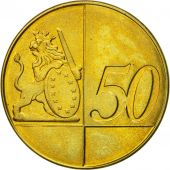 Ireland, Medal, Essai 50 cents, 2005, MS(63), Brass