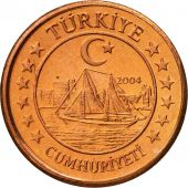 Turkey, Medal, Essai 2 cents, 2004, MS(63), Copper