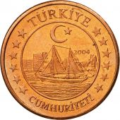 Turkey, Medal, Essai 5 cents, 2004, MS(63), Copper