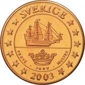 Sweden, Medal, Essai 2 cents, 2003, MS(63), Copper