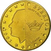 Sweden, Medal, Essai 10 cents, 2003, MS(63), Brass
