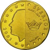 Sweden, Medal, Essai 20 cents, 2003, MS(63), Brass