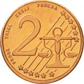MADEIRA ISLANDS, Medal, Essai 2 cents, 2005, MS(63), Copper