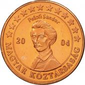 Hungary, Medal, Essai 2 cents, 2004, MS(63), Copper