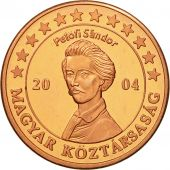 Hungary, Medal, Essai 5 cents, 2004, MS(63), Copper