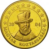 Hungary, Medal, Essai 10 cents, 2004, MS(63), Brass