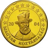 Hungary, Medal, Essai 20 cents, 2004, MS(63), Brass