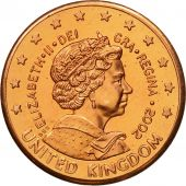 United Kingdom , Medal, Essai 2 cents, 2002, SPL, Cuivre