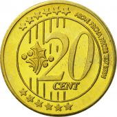 Russia, Medal, Essai 20 cents, 2004, MS(63), Brass