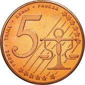 Poland, Medal, Essai 5 cents, 2004, MS(63), Copper