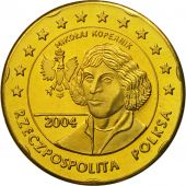 Poland, Medal, Essai 20 cents, 2004, MS(63), Brass