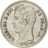 France, Charles X, 1/4 Franc 1828 A (Paris), KM 722.1