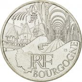 France, 10 Euro, Bourgogne, 2011, MS(63), Silver, KM:1731