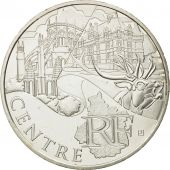 France, 10 Euro, Centre, 2011, MS(63), Silver, KM:1732
