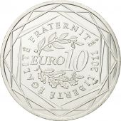 France, 10 Euro, Limousin, 2011, MS(63), Silver, KM:1742