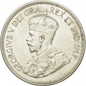 Coin, Cyprus, 45 Piastres, 1928, MS(60-62), Silver, KM:19