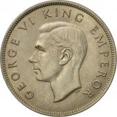 Coin, New Zealand, George VI, 1/2 Crown, 1947, MS(64), Copper-nickel, KM:11a