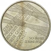 GERMANY - FEDERAL REPUBLIC, 10 Euro, 2003, MS(60-62), Silver, KM:226
