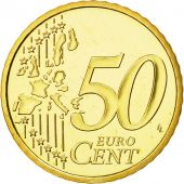 Monaco, 50 Euro Cent, 2004, MS(65-70), Brass, KM:172