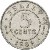 Belize, 5 Cents 1989, KM 34a