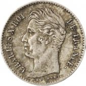 France, Charles X, 1/4 Franc 1830 W (Lille), KM 722.12