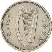 IRELAND REPUBLIC, 3 Pence, 1968, AU(50-53), Copper-nickel, KM:12a