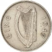 IRELAND REPUBLIC, 6 Pence, 1947, AU(50-53), Copper-nickel, KM:13a
