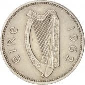 IRELAND REPUBLIC, Shilling, 1962, TTB+, Copper-nickel, KM:14A