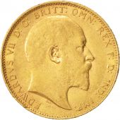 Australie, Edward VII, Sovereign, 1904, Melbourne, TTB+, Or, KM:15