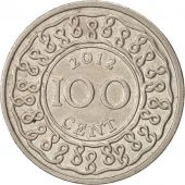 Surinam, 100 Cents, 2012, TTB+, Copper-nickel, KM:23