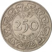 Surinam, 250 Cents, 1987, TTB+, Copper-nickel, KM:24