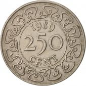 Surinam, 250 Cents, 1989, TTB+, Copper-nickel, KM:24
