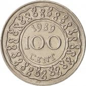 Surinam, 100 Cents, 1989, TTB+, Copper-nickel, KM:23