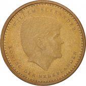 Netherlands Antilles, Gulden, 2014, AU(50-53), Aureate Steel