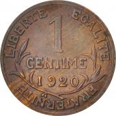 France, Dupuis, Centime, 1920, Paris, TTB+, Bronze, KM:840, Gadoury:90