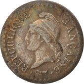 France, Dupré, Centime, 1798, Paris, TB, Bronze, KM:646, Gadoury:76