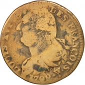 France, 2 Sols, 1792, Arras, B, Bronze, Gadoury:25