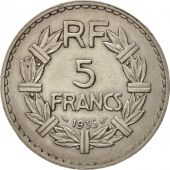 France, Lavrillier, 5 Francs, 1935, Paris, TTB+, Nickel, KM:888, Gadoury:760