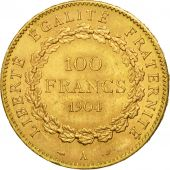 France, Génie, 100 Francs, 1904, Paris, SUP, Or, KM:832, Gadoury:1137